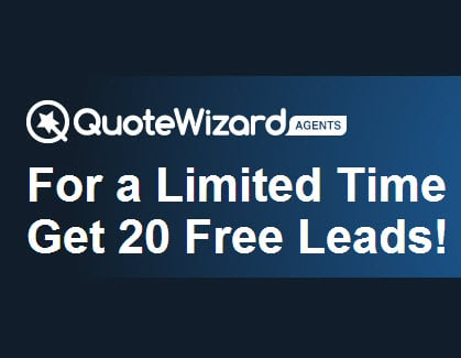 QuoteWizard Offers a Limited Time Promotion of 20 Free Leads