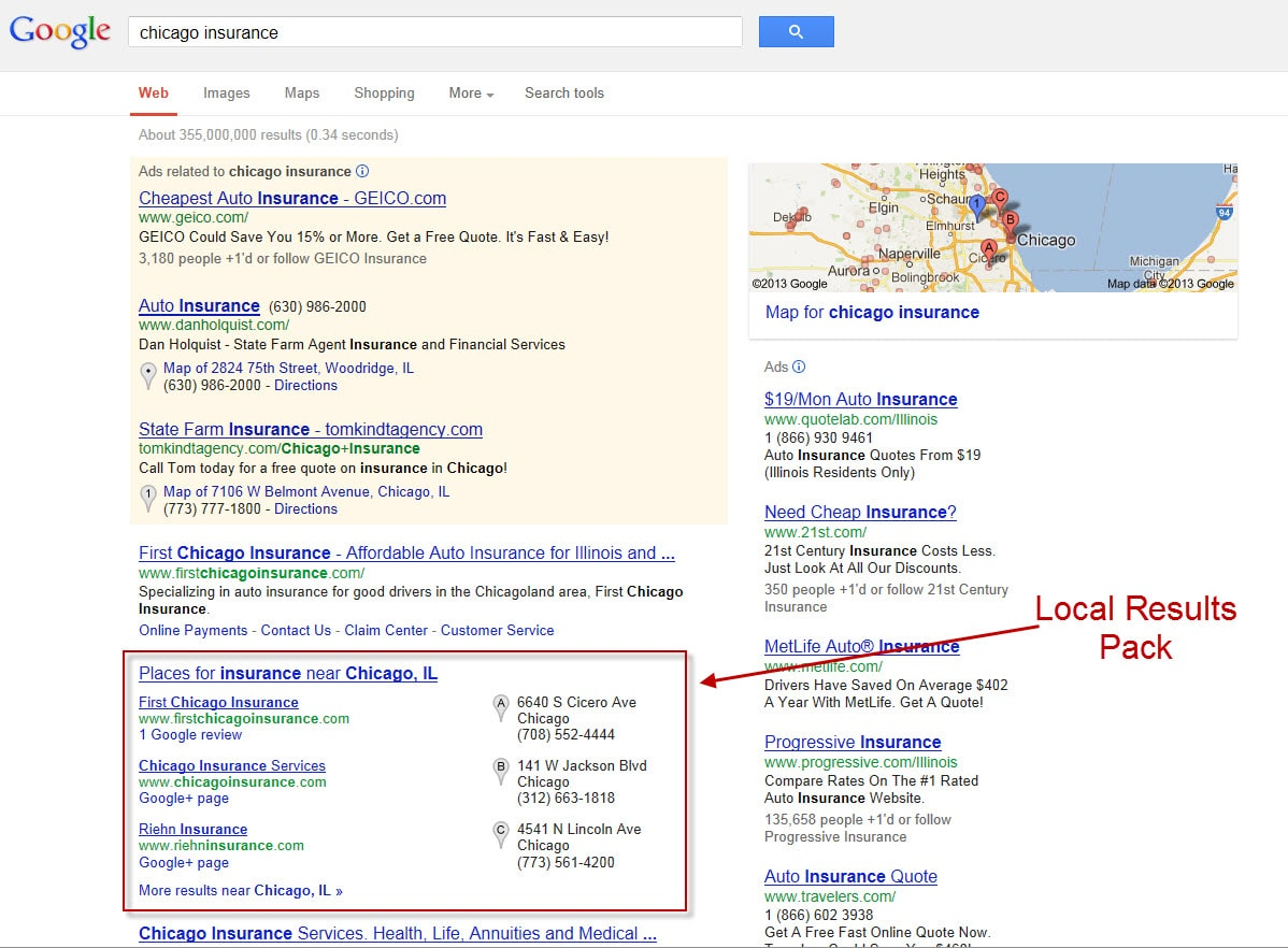 State Farm Online Quote How To Generate More Local Search Leadscleaning Up Your Profile