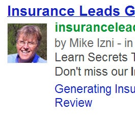 Generate More Insurance Leads With Google Authorship (Updated)