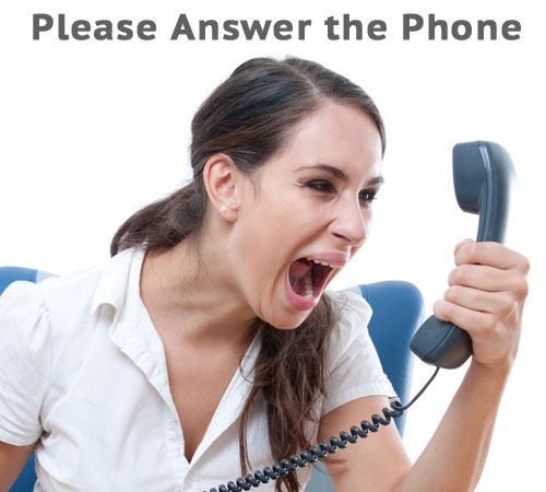 Pick up the Phone [Please!]